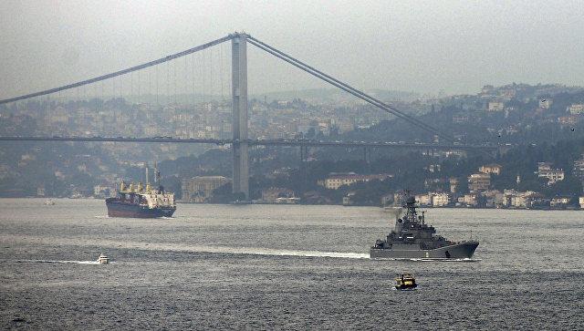 Турция заявила об угрозе терактов против кораблей ВМФ России в Босфоре