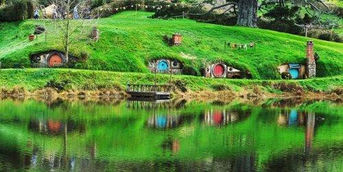 Прогулка по настоящему Хоббитону в Новой Зеландии