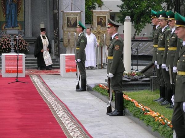 Братское погребение героев первой мировой войны