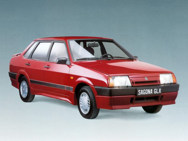 «Девяносто девятая» во Франции: Lada Sagona GLX – топ-версия ВАЗ-21099