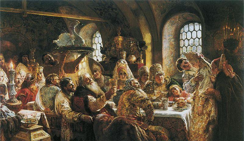 File:К Е Маковский Боярский свадебный пир в xvii веке 1883.jpg