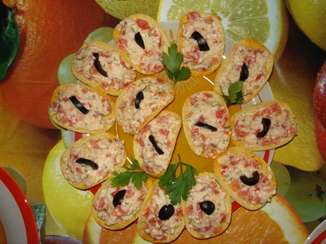 Закуска на чипсах принглс рецепты с фото