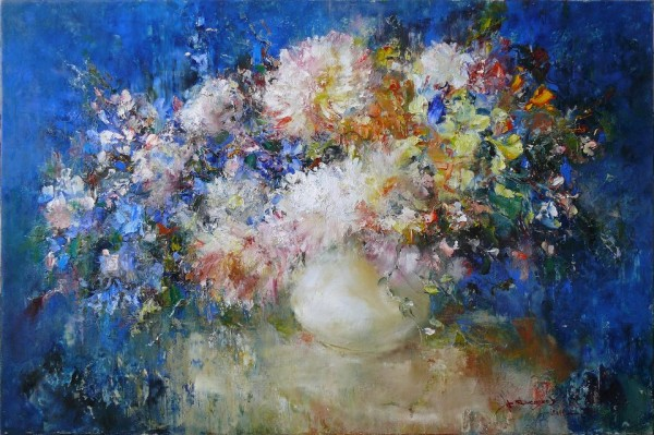 Цветы на Ñинем., 60Ñ…90. Ð¥-м. 2011