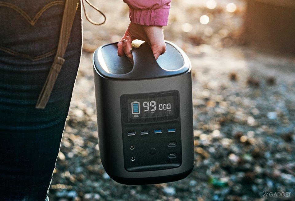 River — идеальный для туризма сверхъёмкий портативный аккумулятор