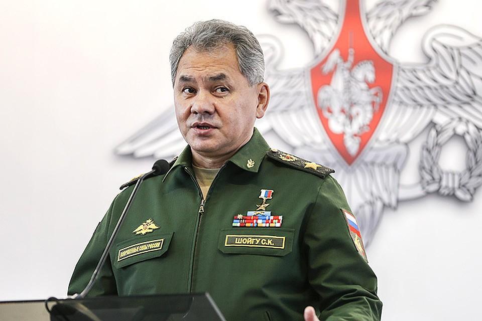 Российская военная техника подтвердила в Сирии свое совершенство —  Шойгу