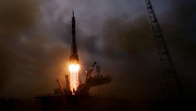 Роскосмос показал видео аварии «Союза»