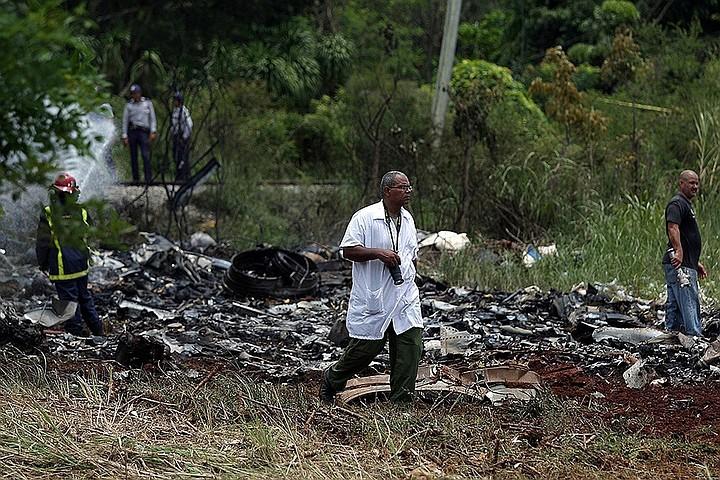 В авиакомпании Global Air назвали причину крушения самолета на Кубе