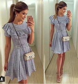 Выкройка летнего платья с рюшем