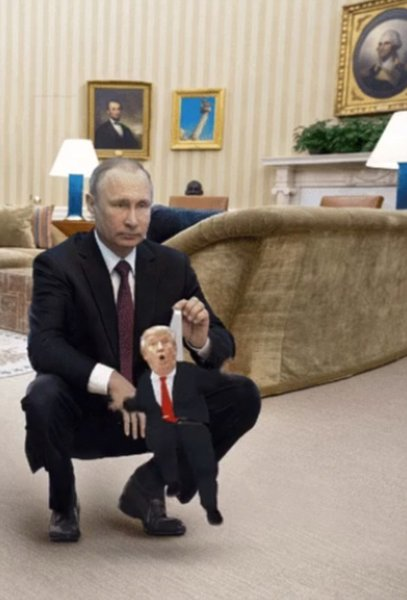 Карикатуры на Трампа и Путин…