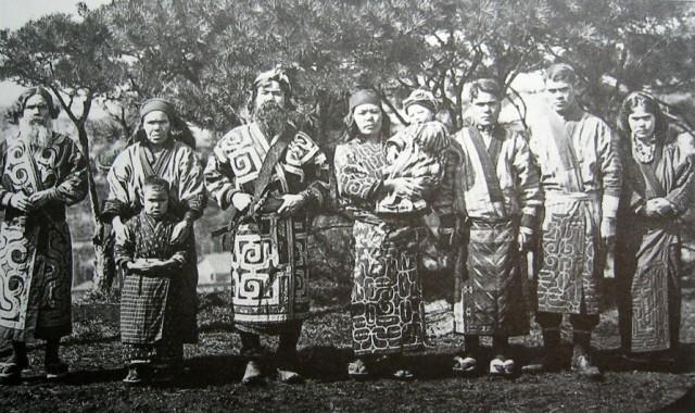 Японцы не коренные жители Японии