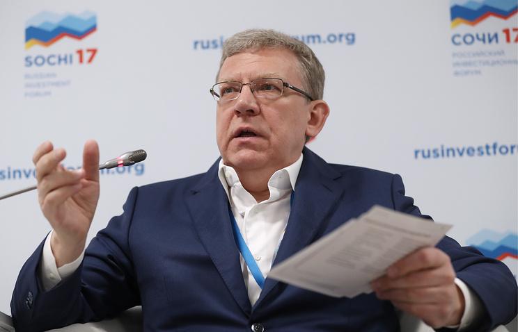 Алексей Кудрин предложил сок…