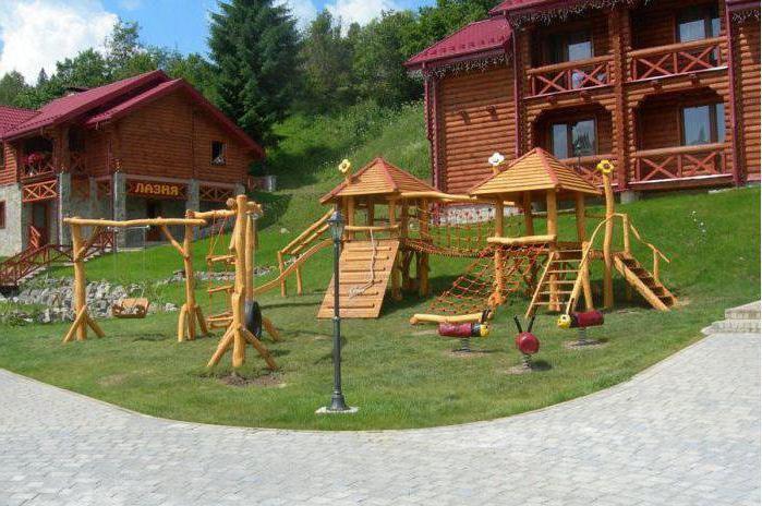 Детские спортивные комплексы для дачи своими руками