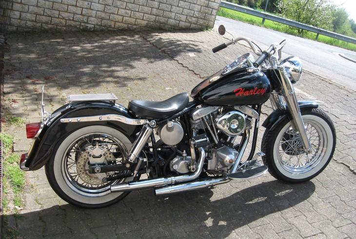 Мотоциклы Harley-Davidson - полная история