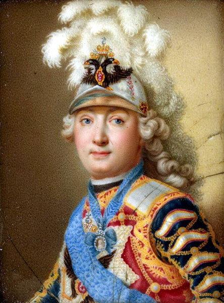 Черный Андрей Иванович «Портрет графа Г. Г. Орлова»