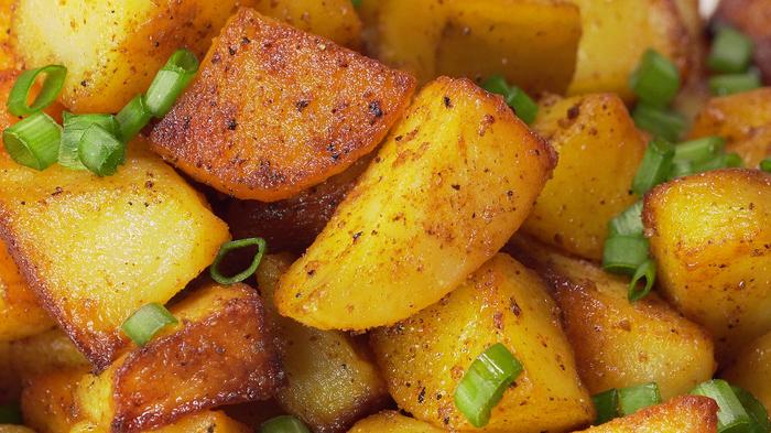 Жареная картошка Жареная картошка, Всегда вкусно, Видео рецепт, Кулинария, Видео, Рецепт