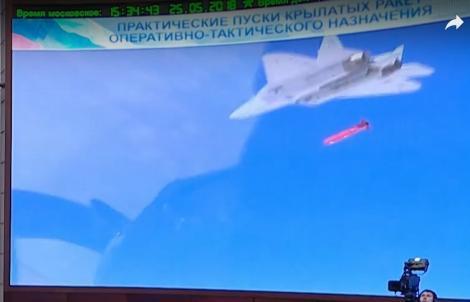 Самолет Т-50 применял крылатые ракеты в Сирии
