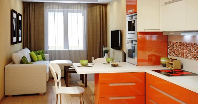 Кухня-гостиная - лучшие идеи оформления