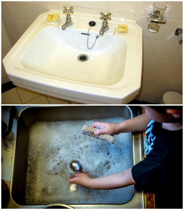 Экономия каждой капельки воды.