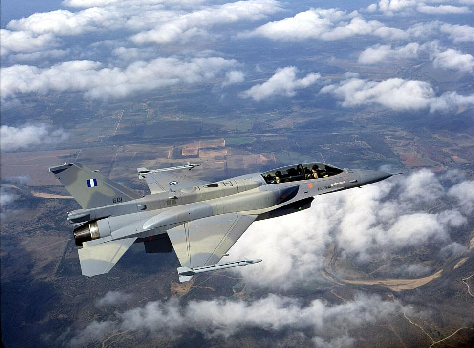 Греческие истребители F-16 будут модернизированы в вариант F-16V