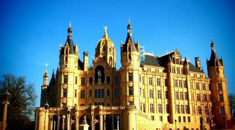 Великолепный Шверинский замок!