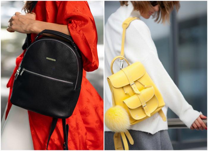 Разнообразные рюкзаки.   Фото: BlankNote.