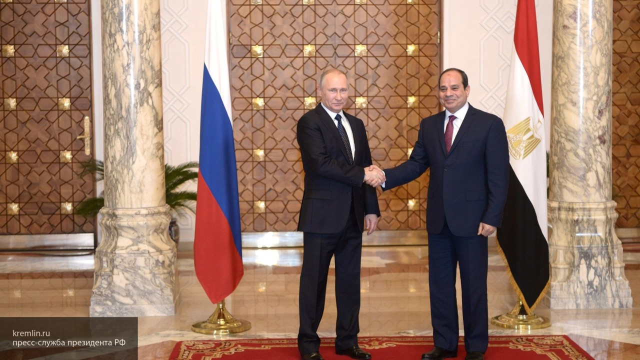 Кремль анонсировал встречу Путина и президента Египта в Сочи