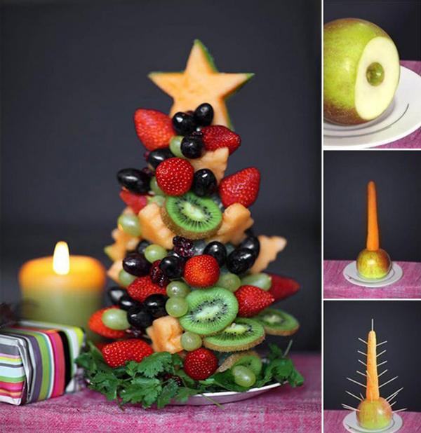 Это не только красиво, но и очень вкусно! 12 съедобных идей на Новый год.