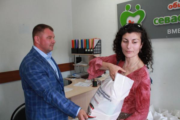 В Севастополе живет и трудит…