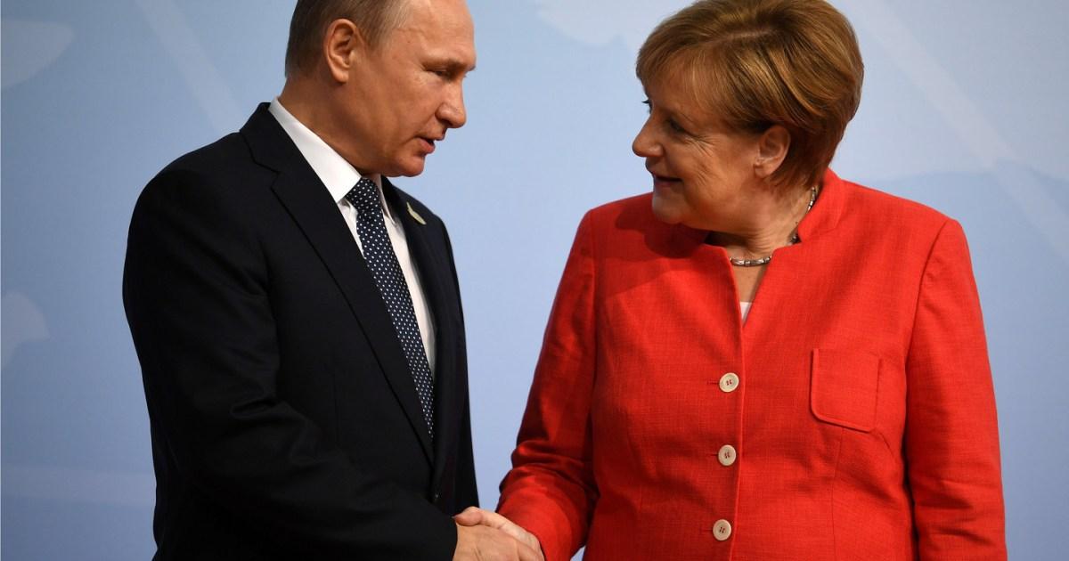 Путин дал понять Меркель, что она не «болонка Вашингтона»