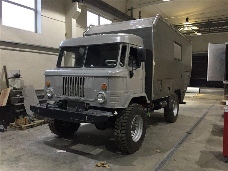 Дом на колесах из ГАЗ-66 (Шишига) сделал умелец из Ижевска