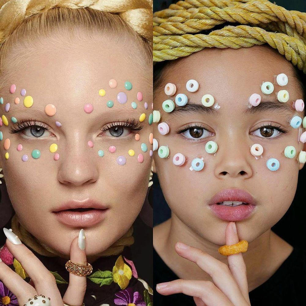 Эмма Стоун в платье из вафель и Рианна с кастрюлей на голове: 9-летняя звезда интернета удачно пародирует образы знаменитостей в домашних условиях, фото № 15