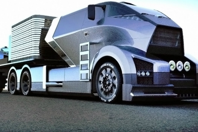 Поразительные грузовики будущего