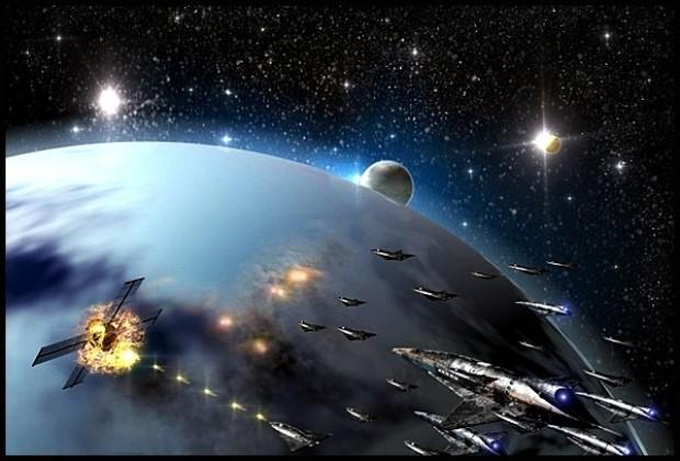 Войны НЛО на орбите Земли