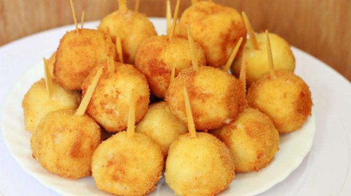 Домашние куриные наггетсы с сыром