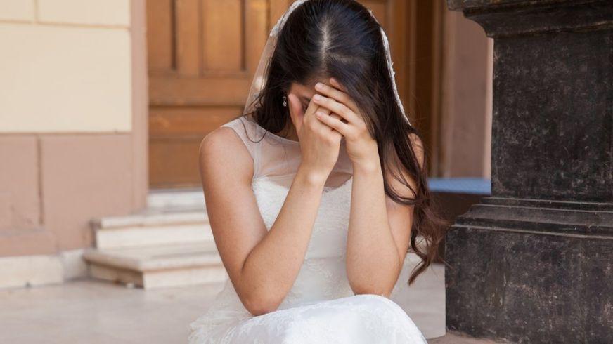 Женщину выдали замуж на свад…