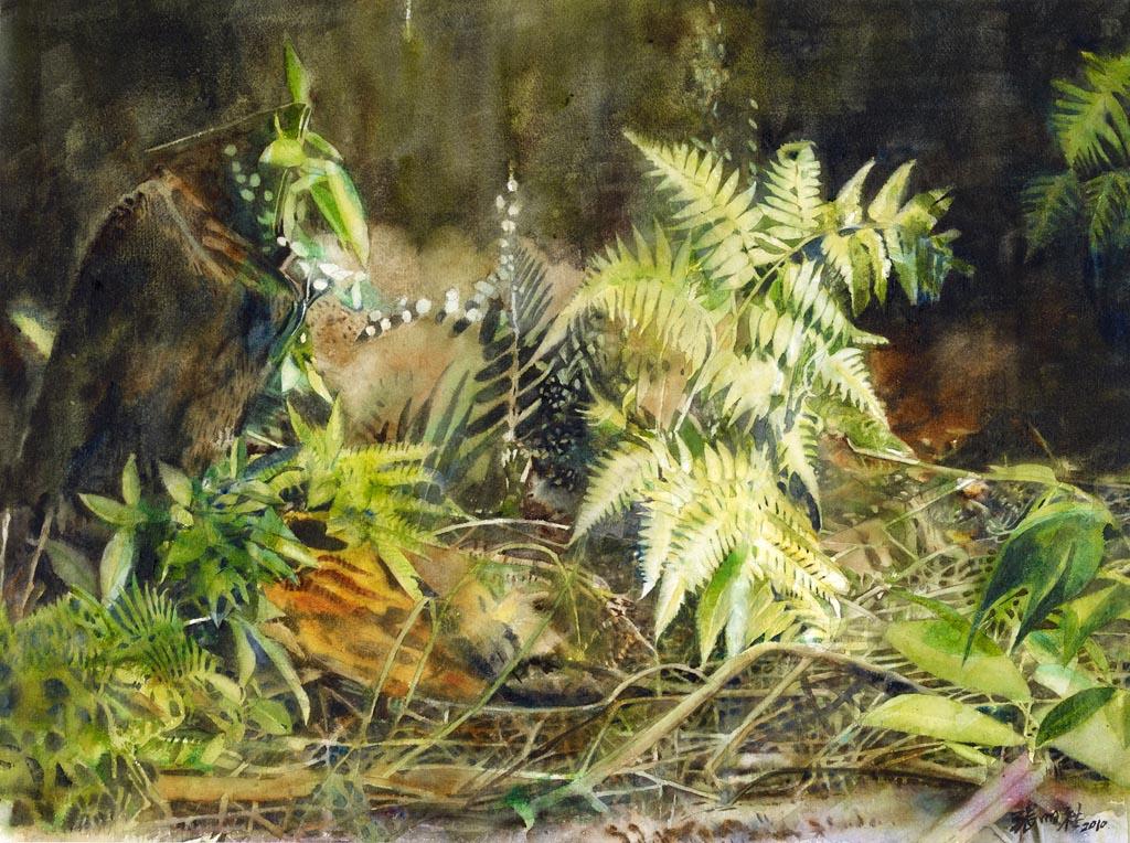 Очарование в невзрачном... Китайский художник Zhang MingQi