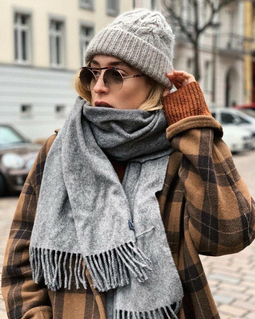 Как правильно носить шарф, чтобы не испортить весь образ