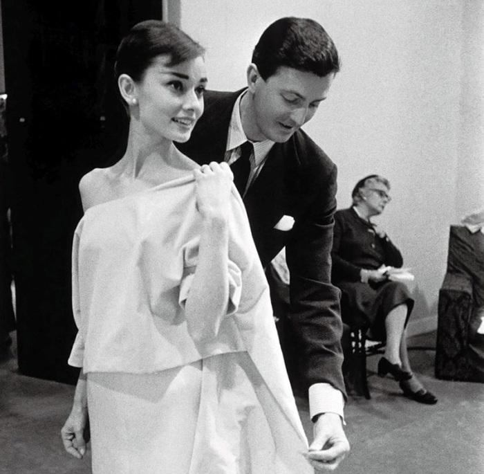 Одри Хепбёрн и Юбер де Живанши. / Фото: www.babr24.net