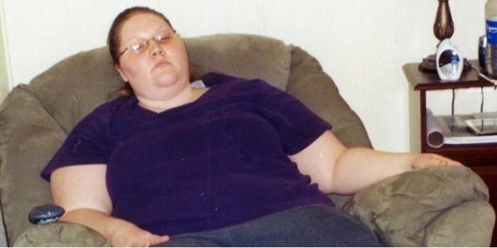 Американка сломала три беговые дорожки, но похудела на 133 килограмма
