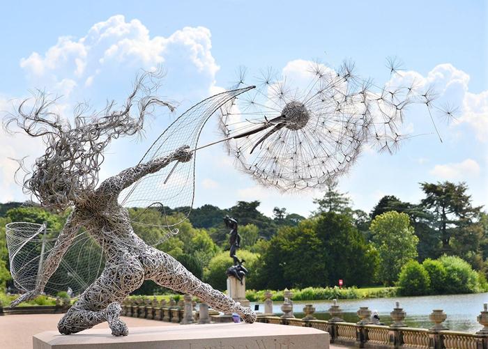 Сказочные скульптуры от Robin Wight.