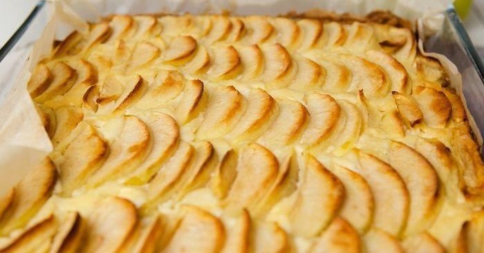 Пирог «Осенняя мелодия»: ели…