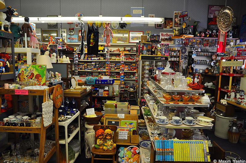Antiques shops 15 Антикварные магазины в США