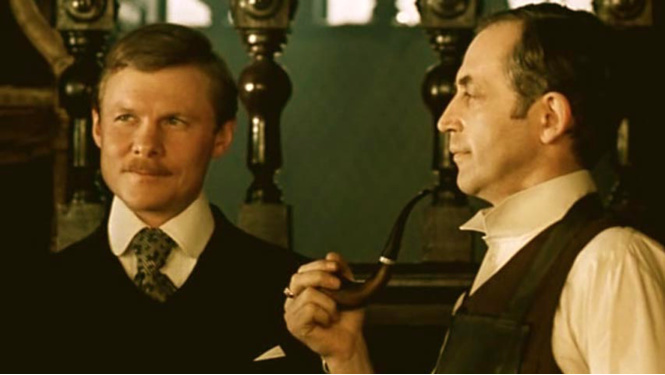 как приключения шерлока холмса и доктора ватсона смотреть поэт