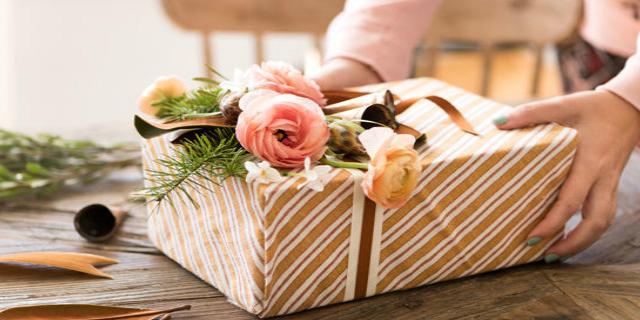 Японский способ упаковки подарков меньше, чем за 1 минуту