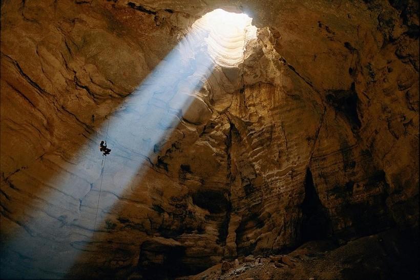 Невероятные фотографии пещер…