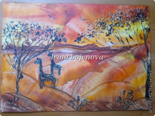 Картина, панно, рисунок Энкаустика: ПРОБЫ ПЕРА....ЭНКАУСТИКА...ПЕРВЫЕ РАБОТЫ Воск. Фото 1
