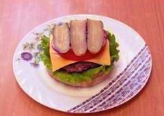 Гамбургер по рецепту Спанч Боба 19