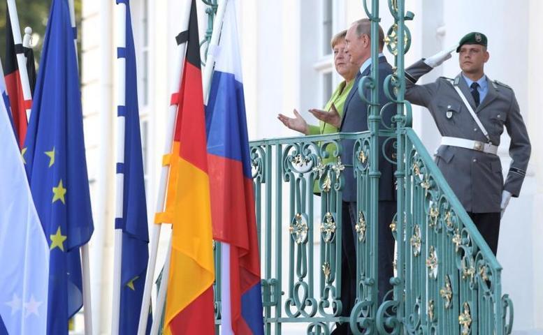 Состоялись переговоры Владимира Путина и Ангелы Меркель