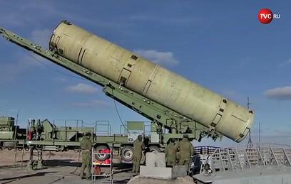 Минобороны показало испытания новой ракеты системы ПРО