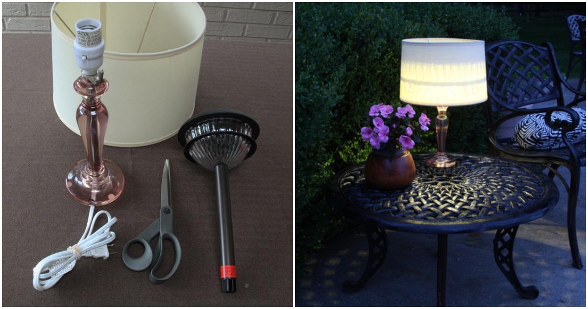 Светильник без розетки: отличное решение для сада